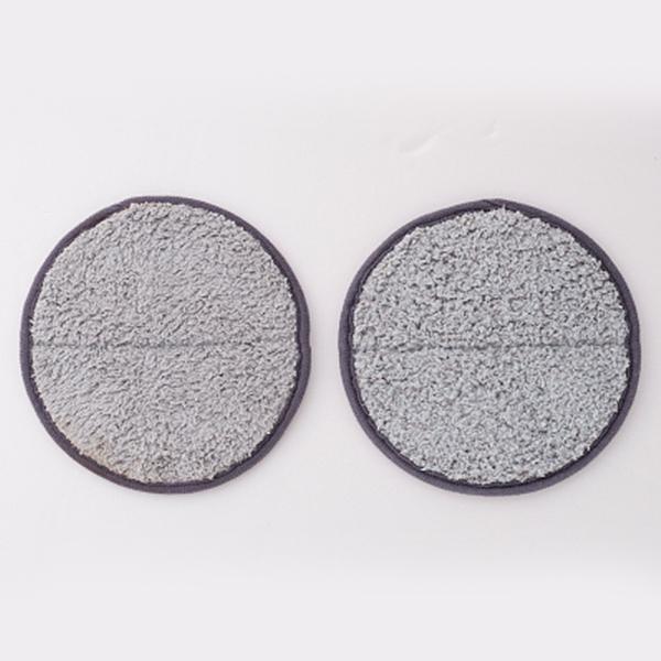 コードレス 回転 モップ クリーナー 交換用 スペア モップパッド / キャッチ モップ ダブル 繊維 構造 替え 掃除 円形 円型 掃除【TBSショッピング】
