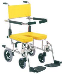 入浴・シャワー用車椅子KS10車いす 送料無料  入浴 カワムラサイクル  介護用品 入浴用品 お風呂用品 シャワーキャリー