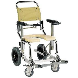 入浴用車椅子シャワーキャリーAG-LPG後輪12インチタイプ[樹脂ダブルロック]車いす 送料無料  入浴 介護用品 入浴 車いす