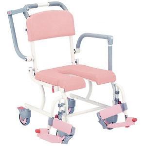 入浴用車椅子シャワーキャリーSW-114輪フリーキャスター送料無料  松永製作所 介護用品 介護用品 入浴用品 お風呂用品 入浴 車いす