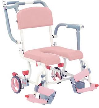入浴用車椅子シャワーキャリーSW-11W後輪7インチ固定送料無料  松永製作所 介護用品 介護用品 入浴用品 お風呂用品 入浴 車いす