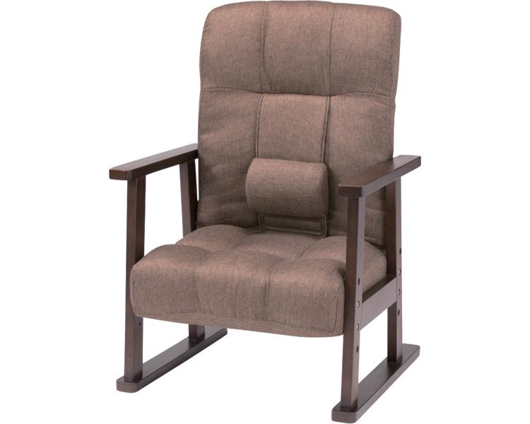 """""""ドウヤ""""メソッド腰痛ソファKSR-ボルトBR ブラウン(介護用品 便利グッズ 老人 お年寄り 高齢者 介護椅子 いす イス)"""