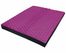 モビマットDVD付Blance(柔らか)MAT002 ピンク×ブラック(介護用品 便利グッズ 老人 お年寄り 高齢者 訓練 健康 トレーニング 予防)
