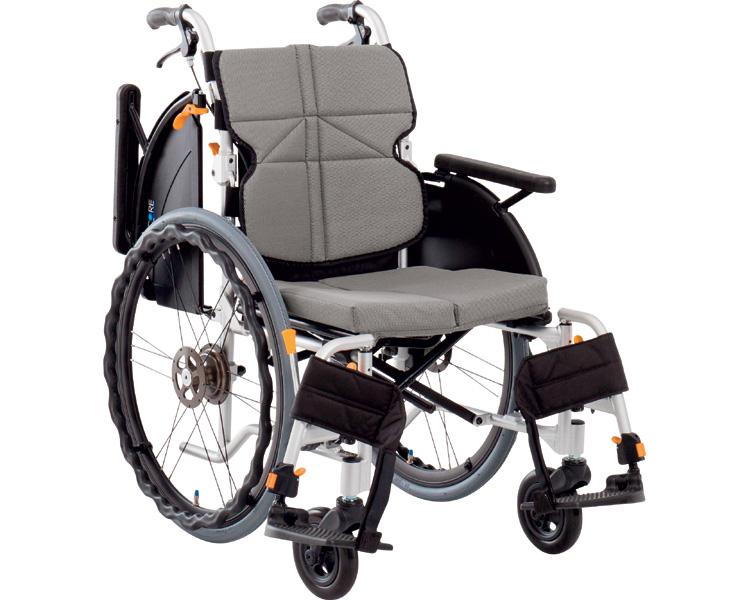 ネクストコア・マルチ 自走用車いす NEXT-31B(車椅子 車いす 車イス 送料無料 座幅 自走用 折り畳み 折りたたみ   介護用品  高齢者用 老人用)