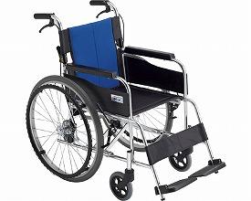 アルミ自走車いす BAL-1(車椅子 車いす 車イス 送料無料 座幅 自走用 折り畳み 折りたたみ   介護用品  高齢者用 老人用)