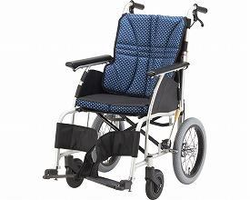 車椅子  アルミ介助車いす ウルトラ NAH-U1(車椅子 車いす 車イス 送料無料 座幅 介助用 折り畳み 折りたたみ  軽量  介護用品  高齢者用 老人