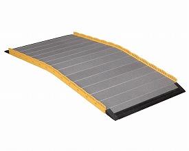 車椅子 スロープ  段ない・ス ロールタイプ630-110 長さ110cm(車椅子 スロープ 車いす 車イス  段差解消 玄関用  階段用  )