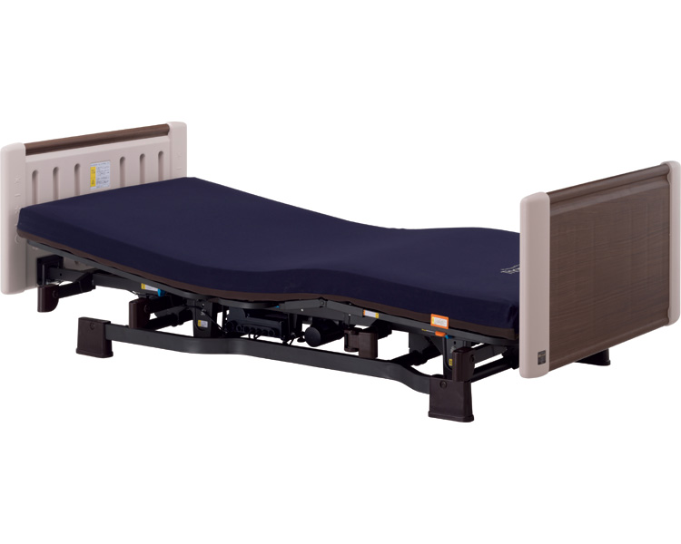 ミオレットII(レギュラー)背上げ1モーター ウッディP106-11AA(介護ベッド 高齢者用ベッド ベット 電動ベッド 老人向けベッド 介護用品 福祉  リハビリ)
