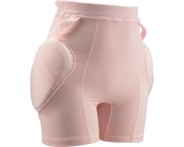 ラ・クッションパンツII 婦人用3906 ピンク LL(転倒 骨粗しょう症 骨折防止 リハビリ 大腿骨保護 お年寄り 介護用 高齢者 老人服 肌着 )
