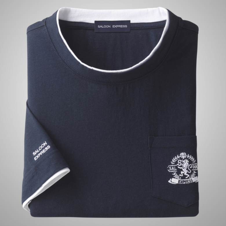 Five Minutes Sleeve T Shirt Three Colors Set Senior Man Mens Wear Elderly