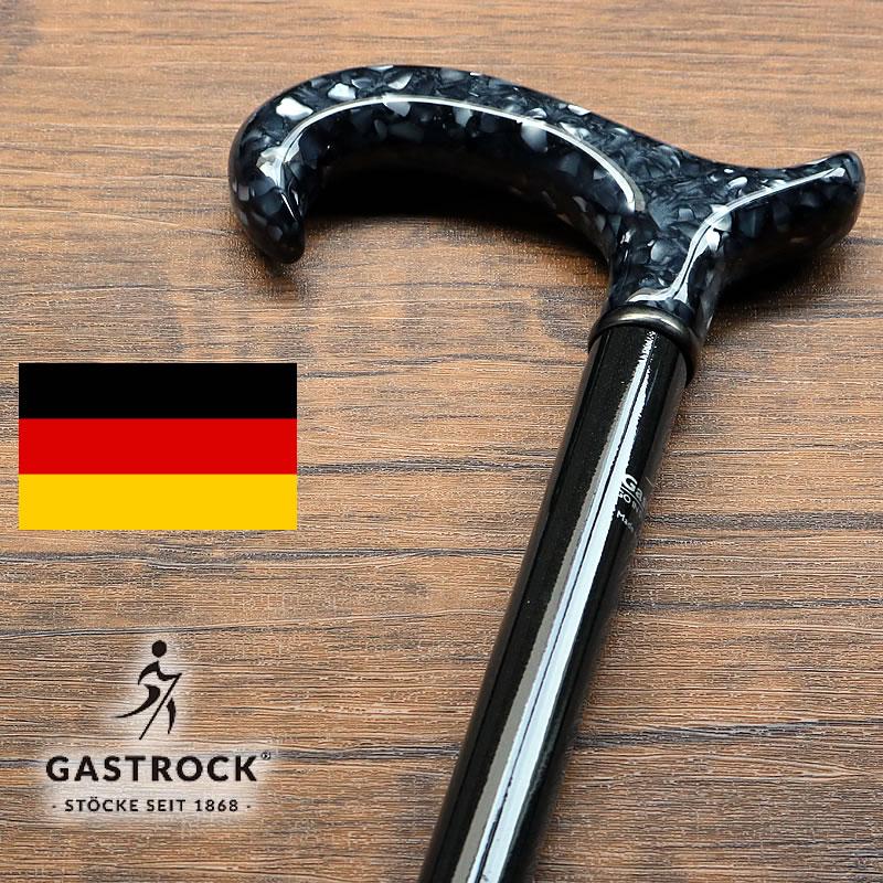 杖 男性用 おしゃれなドイツ製ステッキ ガストロック社製 GASTROCK ブラック GA-67 (おじいちゃん プレゼント 祖父 シニア 高齢者 お年寄り 老人)【母の日 プレゼント 実用的 花以外】
