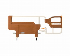 介護ベッド用サイドレール 送料無料 スイングアーム介助バー 木目タイプ / KS-096B 柵 介護用品 福祉用具