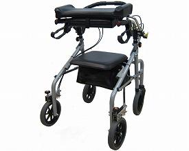 歩行器 介護・歩行補助車 ラビット 座面ありタイプ(シャロー/狭幅)大人用 リハビリ 高齢者用 介護用品 福祉用具歩行訓練