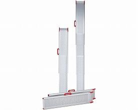 車椅子 スロープ・車椅子用段差解消ポータブルスロープ スライドスロープ / ESK200R 211cm (2本1組)(車いす 車イス 玄関用 階段用)