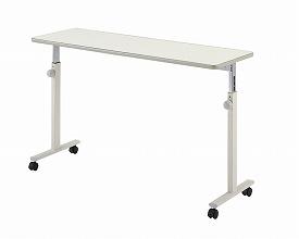 オーバーベッドテーブル(ノブボルト式)KF-813 アイボリー(介護ベッド 高齢者用ベッド ベット 電動ベッド 老人向けベッド 介護用品 福祉  リハビリ)