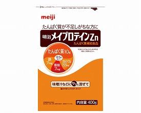 明治メイプロテイン Zn 大袋タイプ400g(10個入り)(介護食 食品 福祉 高齢者用 老人用   )