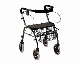 トラベラーN-4700 グリーン(介護歩行器 リハビリ 福祉用具 歩行訓練 介護用品 大人用 高齢者用 老人用 )