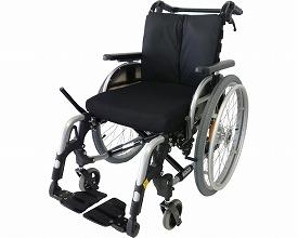 自走用車いす M2(エムツー) 介助用ドラムブレーキ付(車椅子 車いす 車イス 送料無料 座幅 自走用 折り畳み 折りたたみ   介護用品  高齢者用 老人用)