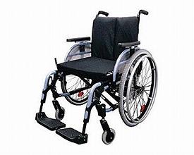 自走用車いす M4(エムフォー) 481F53=40000(車椅子 車いす 車イス 送料無料 座幅 自走用 折り畳み 折りたたみ   介護用品  高齢者用 老人用)