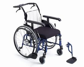 自走用車いす ライラック・スタンダード(LILAC STANDARD)(車椅子 車いす 車イス 送料無料 座幅 自走用 折り畳み 折りたたみ   介護用品  高齢者用 老人用)