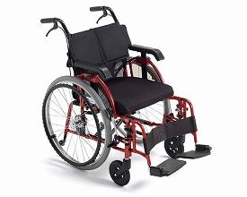 自走用車いす ライラック・リベロ(LILAC LIBERO)(車椅子 車いす 車イス 送料無料 座幅 自走用 折り畳み 折りたたみ   介護用品  高齢者用 老人用)