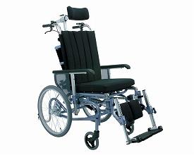 姿勢調整型リクライニング車いす I-LAPPOILA100(車椅子 車いす 車イス 送料無料 座幅 自走用 折り畳み 折りたたみ   介護用品  高齢者用 老人用)