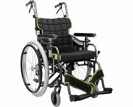 自走用モジュール車いす KM20-40・42SB-SL 超低床タイプ(車椅子 車いす 車イス 送料無料 座幅 自走用 折り畳み 折りたたみ   介護用品  高齢者用 老人用)