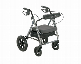 四輪歩行器KW-31(介護歩行器 リハビリ 福祉用具 歩行訓練 介護用品 大人用 高齢者用 老人用 )