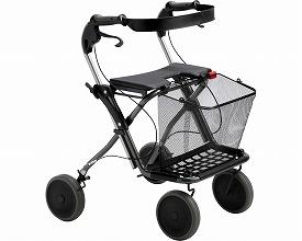 スプリーム117600 ダークグレーメタリック(介護歩行器 リハビリ 福祉用具 歩行訓練 介護用品 大人用 高齢者用 老人用 )