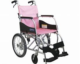 介助用車いす ふわりす KF16-40SB(介護用品/介護車イス/車椅子)
