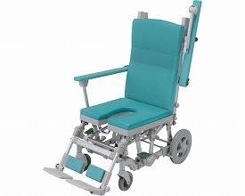 シャワーラクリク U型シートSRC-003 グリーン(入浴用品 介護用品  風呂用品 福祉用具 高齢者用 老人用  )