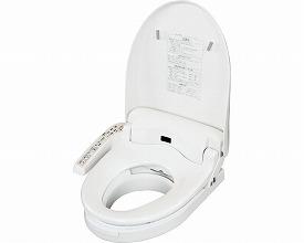 温水洗浄便座付き補高便座 リモコンなし(トイレ用品 福祉用具     排泄介護用品 )