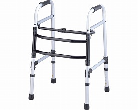 交互式歩行器 ホーム・グリップタイプT-5223 ミスティシルバー (介護歩行器 リハビリ 福祉用具 歩行訓練 介護用品 大人用 高齢者用 老人用 )( 母の日 プレゼント 2019 )