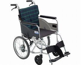 車椅子 BAL-8 SP 軽量タイプハイポリマー 介助型車いす(車椅子 車いす 車イス 送料無料 座幅 介助用 折り畳み 折りたたみ  軽量  介護用品  高齢者用 老人