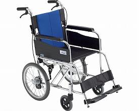 車椅子 BAL-2 標準型 介助式車いす(車椅子 車いす 車イス 送料無料 座幅 介助用 折り畳み 折りたたみ  軽量  介護用品  高齢者用 老人