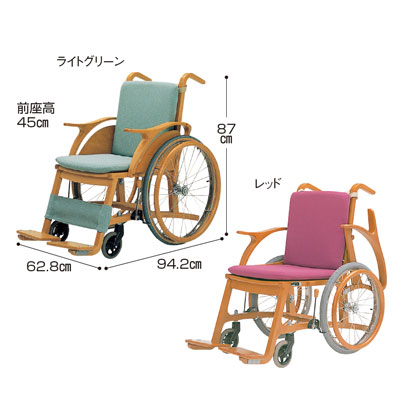 Wheelchair Wooden Wheelchair Swan4 Care Formula (wheelchair Wheelchair  Wheelchair Seat Width Size Dimensions Assisted Folding Folding Fashionable  ...