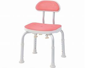 コンパクトバスチェア 背付きBC-01H-PI ピンク (シャワーチェア バスチェアー 介護用風呂椅子 シャワーベンチ 介護用品 高齢者用 老人用 )( 母の日 プレゼント 2019 )