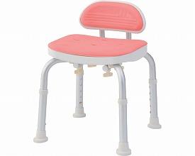 コンパクトバスチェア ミニ背付きBC-01L-PI ピンク(シャワーチェア バスチェアー 介護用風呂椅子 シャワーベンチ 介護用品  高齢者用 老人用  )