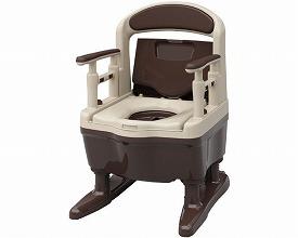 安寿 ポータブルトイレ ジャスピタ533-900 標準便座(ポータブルトイレ簡易トイレ 介護用 非常用  介護用便座 介護 トイレ 介護用品 トイレ    )