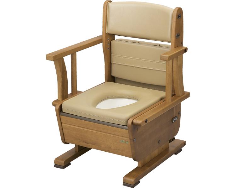 さわやかチェアPTW(ワイド)8230 肘掛け自在タイプ(ポータブルトイレ簡易トイレ 介護用 非常用  介護用便座 介護 トイレ 介護用品 トイレ    )