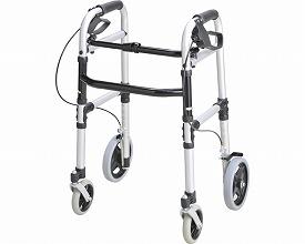 ウォーカー ホームタイプT-5800 シルバー(介護歩行器 リハビリ 福祉用具 歩行訓練 介護用品 大人用 高齢者用 老人用 )