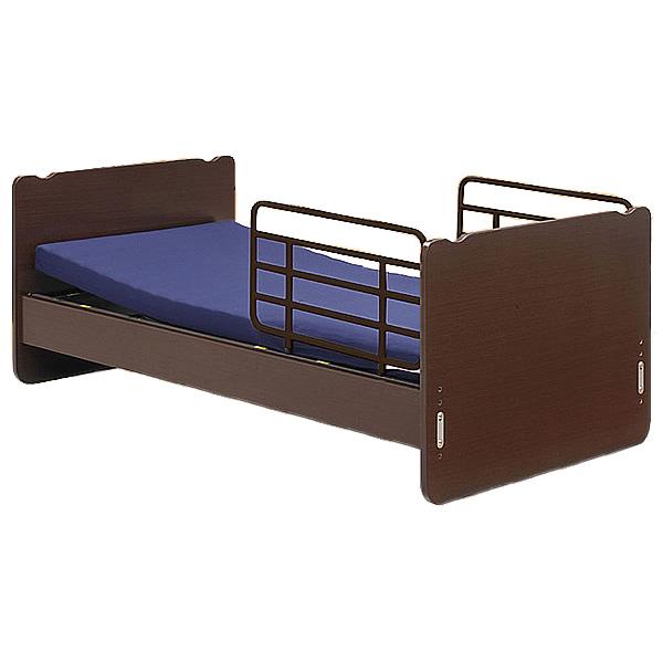 介護ベッド 電動リクライニングベッド 1モーター(背/背脚連動)tc-b01011 / オーイーダブルマットレスMT-02付(電動リクライニングベッド 老人用 介護用品  高齢者用 送料無料)