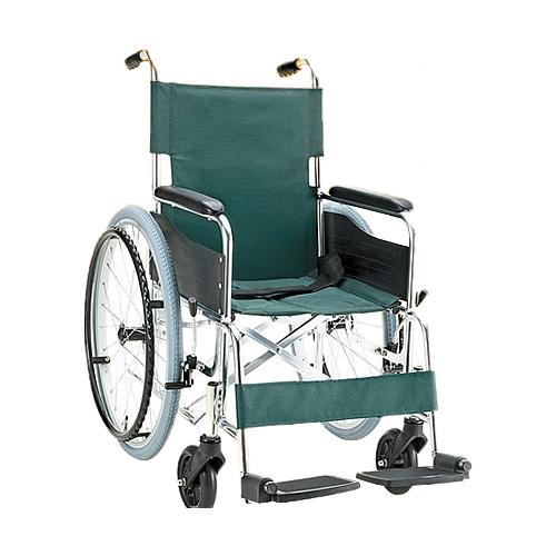 車椅子 折り畳み アルミ自走用車いす[介助ブレーキなし](車椅子 車いす 車イス サイズ 自走用 サイズ 折りたたみ  介護用品  高齢者用 老人用 座幅 種類 送料無料 軽量)