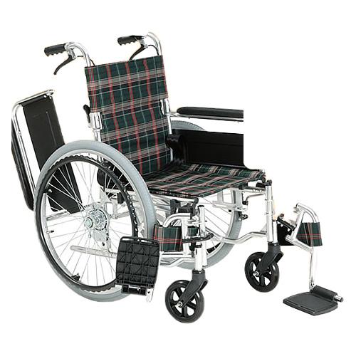 車椅子 折り畳み アルミ多機能自走用車いす(ひじ掛けはね上げ 脚部開閉・着脱)(車椅子 車いす 車イス サイズ 自走用 サイズ 用 座幅 種類 送料無料 軽量)( 母の日 プレゼント 2019 )