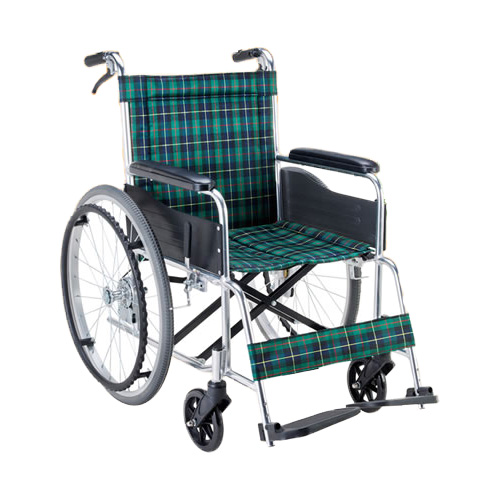 車椅子軽量折り畳み アルミ自走用車いす(ノーパンク仕様)(車椅子 車いす 車イス サイズ 自走用 サイズ 折りたたみ 介護用品 高齢者用 老人用 座幅 種類 送料無料 軽量)( 母の日 プレゼント 2019 )