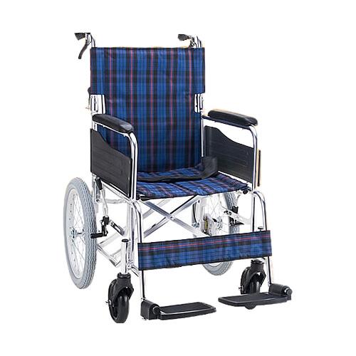 車椅子介助式 折り畳み アルミ介助車いす(車椅子 車いす 車イス サイズ 介助用 折りたたみ 送料無料 軽量折り畳み)【敬老の日 プレゼント ギフト】