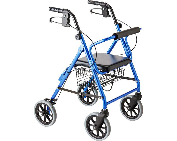 シルバーカー・歩行器ハッピー2NB※アウトレット スーパーセール[ 歩行器 折りたたみ式][介護用品][リハビリ]歩行訓練