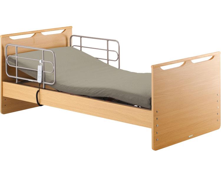 介護ベッド 電動リクライニング 穂高 1モーター 宮無HBS-371MY1 (介護用品 福祉用具 高齢者 老人 お年寄り 便利グッズ ベッド 寝具)