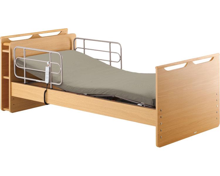 介護ベッド 電動リクライニング 電動ベッド 穂高 1モーター 宮付HBS-370MY1 (介護用品 福祉用具 高齢者 老人 お年寄り 便利グッズ ベッド 寝具)