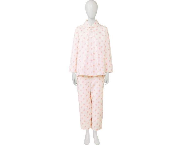 For the soft care pajamas loop fastener type woman (Mr. nursing care pajamas gentleman woman male woman elderly hospitalization care night clothes elderly person clothes)
